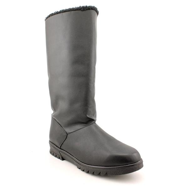 Toe Warmers Women's 'Glacier' Leather Boots - Extra Wide