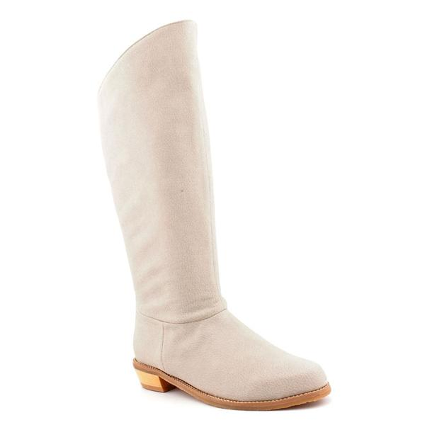 Cri De Coeur Women's 'Marcy' Grey Leather Boots