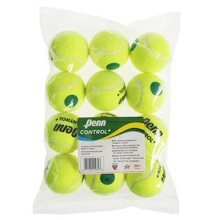 Penn Control Plus Green Dot Tennis Balls (Pack of 12)