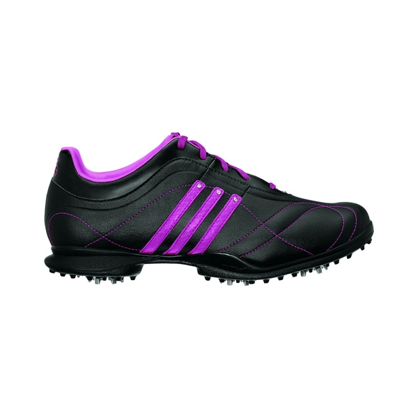 Adidas Black/ Pink Women's Signature Natalie 2.0 Golf Shoes