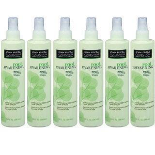 John Frieda Root Awakening Strength Restoring 10-ounce Hair Spray (Pack of 6)