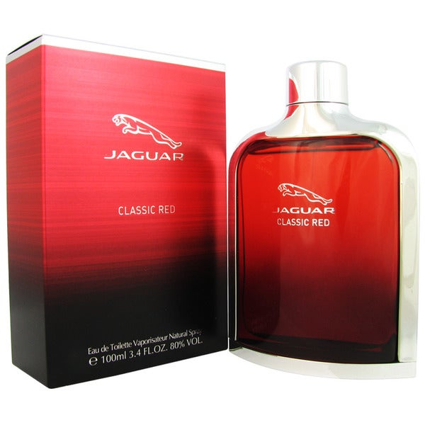 Jaguar Classic Red Men's 3.4-ounce Eau de Toilette Spray