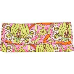 Women's Amy Butler Brenda Clutch Temple Tulips Pink