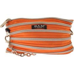 Women's BAM BAGS Isabella Tangerine/Silver