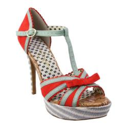 Women's Jessica Simpson Britt Tomato Red/Cool Mint