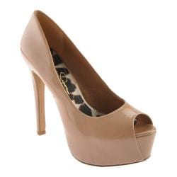 Women's Jessica Simpson Carri Nude Patent Leather