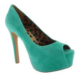 Women's Jessica Simpson Carri Palmetto Green Kidsuede