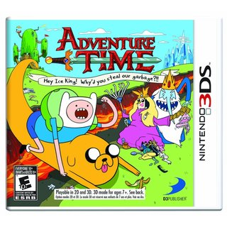 Nintendo 3DS - Adventure Time: Hey Ice King! Why'd you steal our garbage?!!