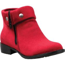 Women's Propet Sidney Red Velour