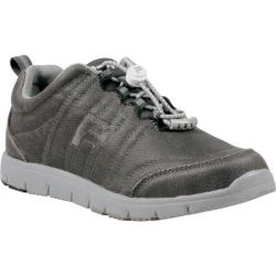 Women's Propet TravelWalker Canvas Charcoal