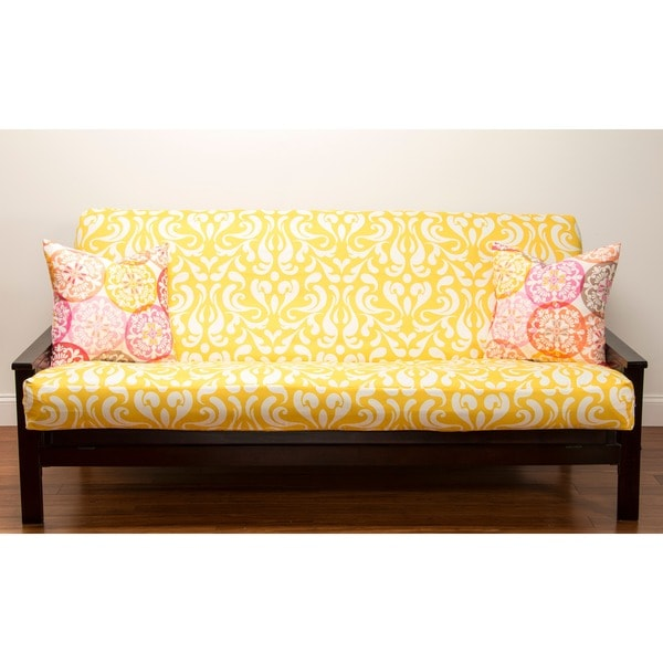 Adele Yellow Futon Cover