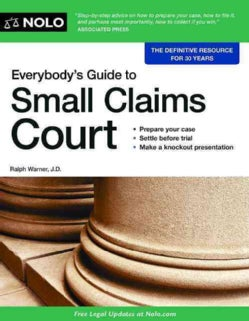 Everybody's Guide to Small Claims Court (Paperback)