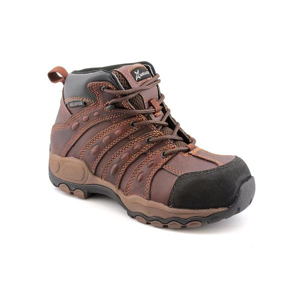 Wellco Boy Youth 'Shotgun Composite Toe' Leather Boots (Size 4 )