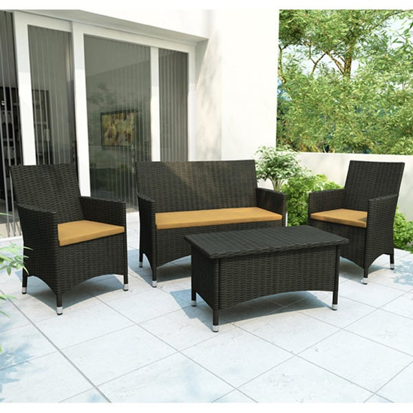 Sonax Cascade 4 Piece Patio Set