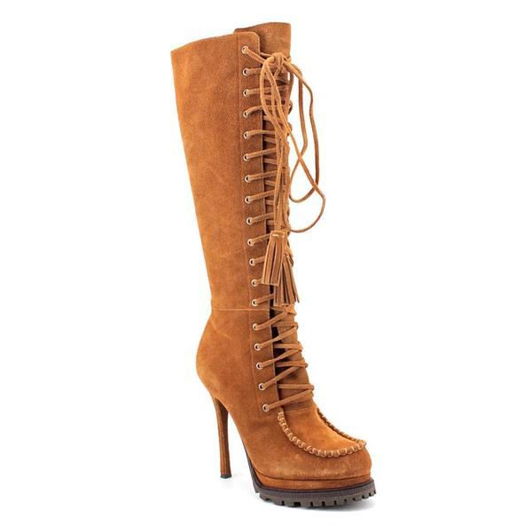 Bebe Women's 'Rowdy' Regular Suede Boots (Size 6.5 )