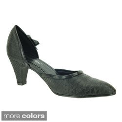 DimeCity Women's 'Adelaide' Slip-on Pumps