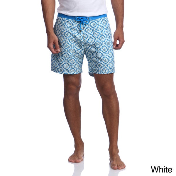 Mr. Swim Men's Retro Star Swim Trunks