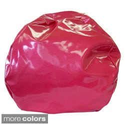 Super Jumbo XXL Sparkle Vinyl Bean Bag