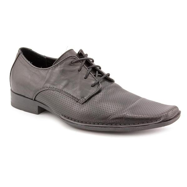guess s satay leather dress shoes size 8
