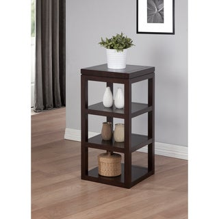 Studio Halifax Brown Finish 4-shelf Accent Table
