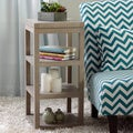 Studio Table Dove Finish 4-shelf Accent