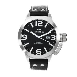 TW Steel Men's Black Dial Watch