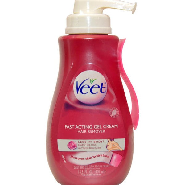 Veet Fast Acting Gel Cream 13.5-ounce Hair Remover