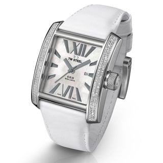 TW Steel Men's 'CEO Goliath' Diamond-accented Watch
