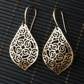 Goldplated Teardrop Earrings (China)