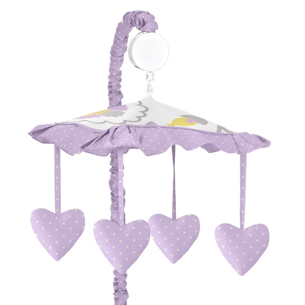 Sweet JoJo Designs Suzanna Musical Crib Mobile