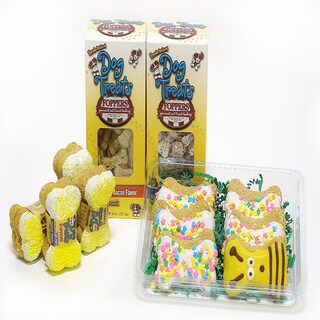 Foppers 'Buzzing Around Bumblebee' 174-Piece Dog Treat Gift Set