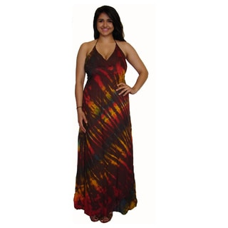 Long Tye Dye Maxi Dress (Nepal)