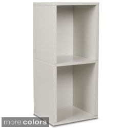 2-shelf Eco-friendly zBoard Bookshelf and Storage Shelf
