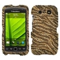 BasAcc Tiger Skin Diamante Case For Blackberry 9850 Torch/ 9860 Torch