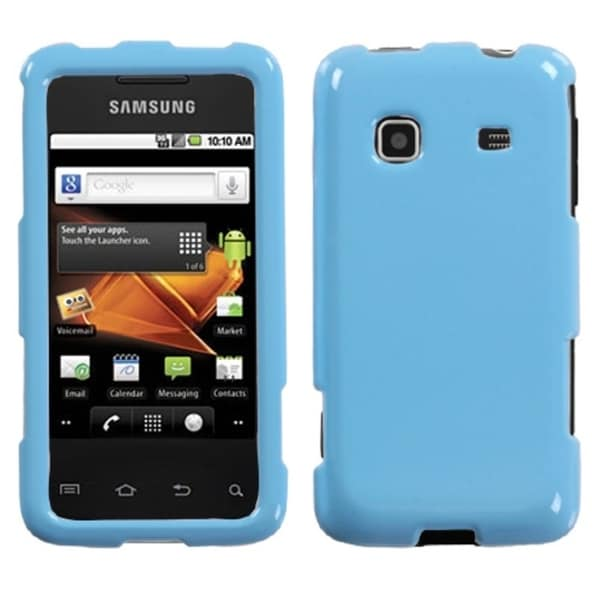 INSTEN Solid Robin Egg Blue Phone Case Cover for Samsung M820 Galaxy Prevail