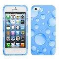 BasAcc Blue Bigger Bubbles Phone Protector Case for Apple iPhone 5
