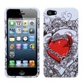 BasAcc Secret Love Phone Protector Case for Apple iPhone 5