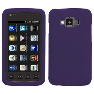 BasAcc Purple Solid Skin Case for Samsung© I847 Rugby Smart