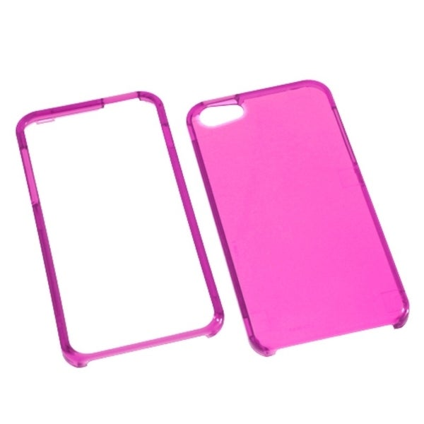 INSTEN Hot Pink Phone Protector Phone Case Cover for Apple iPhone 5