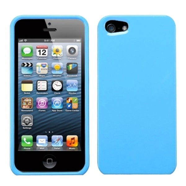 INSTEN Solid Robin Egg Blue Phone Protector Phone Case Cover for Apple iPhone 5