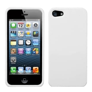 INSTEN Ivory White Natural Phone Protector Phone Case Cover for Apple iPhone 5