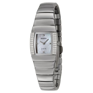 Rado Women's 'Sintra' Ceramic Diamond-accented Swiss Quartz Watch