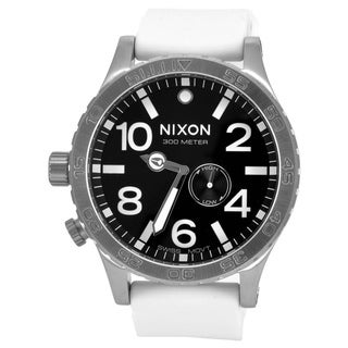 Nixon 51-30 PU A058 White/ Black Watch