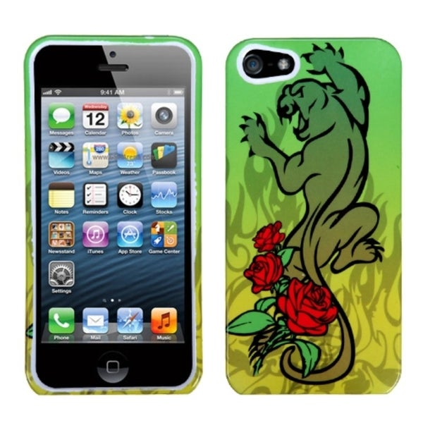 INSTEN Cougar Rose Phone Protector Phone Case Cover for Apple iPhone 5