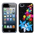BasAcc Rainbow Flower Phone Protector Case for Apple iPhone 5