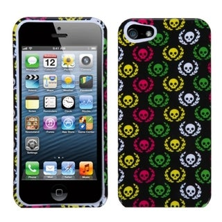 INSTEN Cute Skulls Phone Protector Phone Case Cover for Apple iPhone 5