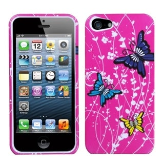INSTEN Spring Butterfly Phone Protector Case for Apple iPhone 5/ 5S/ SE