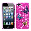 BasAcc Spring Butterfly Phone Protector Case for Apple iPhone 5