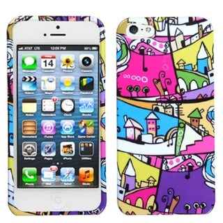 INSTEN Foreign Buildings Phone Protector Phone Case Cover for Apple iPhone 5
