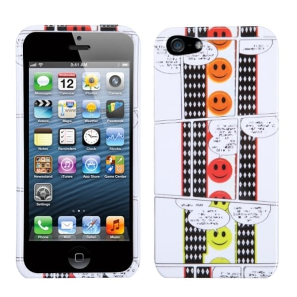 INSTEN Dialogue Phone Protector Phone Case Cover for Apple iPhone 5